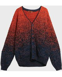 Missoni Cable-knit Cotton-blend Cardigan - Multicolour