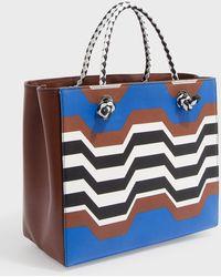 Missoni - Mini Greco Shopper Bag - Lyst