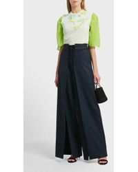 Delpozo | Relaxed Fit Silk Shirt | Lyst