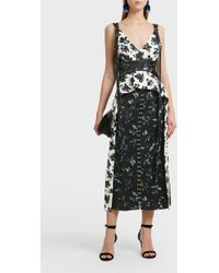 Proenza Schouler - Floral Print Dress - Lyst