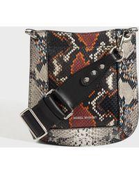 Isabel Marant - Nasko Leather Bag, Size Os, Women, Brown - Lyst