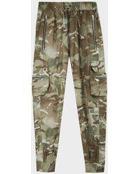 Represent Cuffed Cargo Sweatpants - Green
