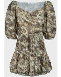 Marysia Swim Ink Cotton Mini Dress - Multicolor