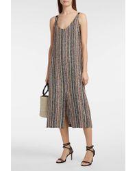 Rachel Comey Silk-trimmed Boucle Dress - Multicolour