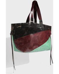 Isabel Marant - Wardy Leather Shopper - Lyst