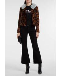 Shrimps | Betsy Leopard-print Faux Fur Jacket | Lyst