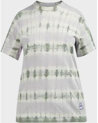 Étoile Isabel Marant Dena Tie-dye Cotton T-shirt - Multicolor