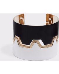Missoni - Greco Cuff Bracelet, Size Os, , Black - Lyst