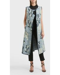 Isabel Marant Lekness Printed Cotton Coat - Multicolor