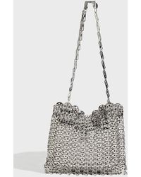 Paco Rabanne - Iconic Chainmail Bag, Size Os, Women, Silver - Lyst