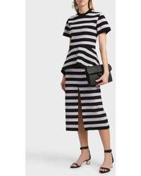 Proenza Schouler | Striped Pencil Skirt | Lyst