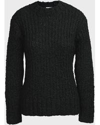 Aje. Rebellion Chunky Knit Jumper - Black