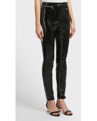 3.1 Phillip Lim - Ankle Zip Leather Leggings - Lyst