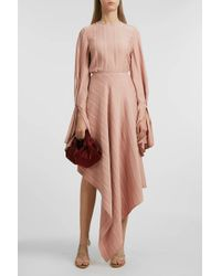 Sid Neigum Gathered Top - Pink