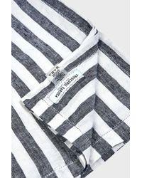 Frescobol Carioca - Striped Medium Linen Towel, Size Os, Men, Navy - Lyst