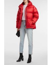 Ienki Ienki - Michlin Quilted Shell Down Jacket, Size Xs, Women, Red - Lyst