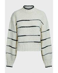 Proenza Schouler Irregular Striped Cotton Sweater - Multicolor