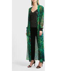 Elie Saab Sequin Camisole - Green