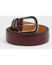 Victoria Beckham Leather Waist Belt - Multicolor