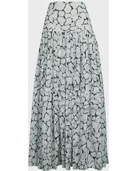 Aje. Rebellion Lace Maxi Skirt - Multicolour