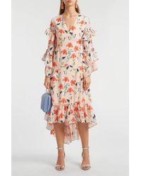 Borgo De Nor Iris Printed Summer Dress - Multicolor