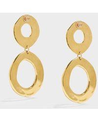 Sonia Boyajian - Holiday Gold-tone Earrings - Lyst