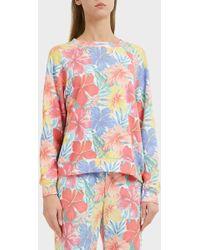 Wildfox - Tropicalia Sommers Sweatshirt, Size Xs, Women - Lyst