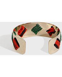 Missoni - Skinny Cuff Bracelet, Size Os, Women, Green - Lyst