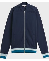 Orlebar Brown - Thorpe Cotton-blend Jacket, Size M, Men, Navy - Lyst