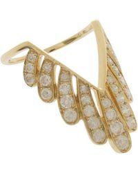 Yvonne Léon - Les Vivianes Ring, Size France53, Women, Metallic - Lyst