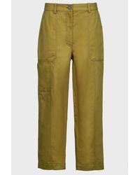 3.1 Phillip Lim High-waist Utility Pants - Green