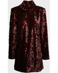 Aje. Rebellion Embellished Mini Dress - Multicolor