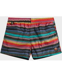 Missoni - Printed Swim Shorts - Lyst