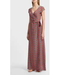 Paolita - Printed Wrap Dress, Size M, Women - Lyst