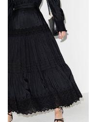 Boutique Ludivine Mimi Prober Kate Tiered Skirt - Black