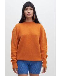 Boutique Ludivine The Elder Statesman Foxy Sweater - Orange
