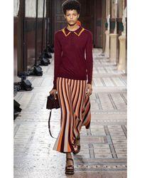 Boutique Ludivine Gabriela Hearst Dixie Skirt - Multicolor