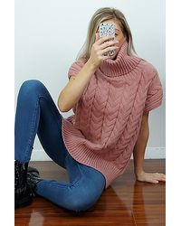 Boutique Store - Cable Knit Jumper - Lyst