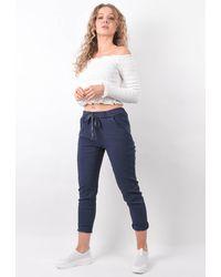 Boutique Store High Stretch Magic Trousers - Blue