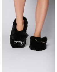 Boux Avenue - Cat Slippers - Lyst
