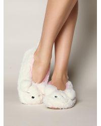 Boux Avenue - Polar Bear Slippers - Lyst
