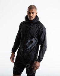 BOXRAW Sanchez Windbreaker Jacket - Black