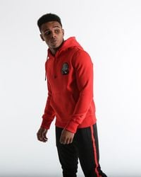 BOXRAW Tank Hoodie - Red