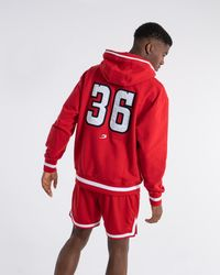 BOXRAW 36 By Teddy Atlas Hoodie - Red