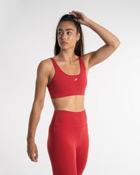 BOXRAW Velez Sports Bra - Red