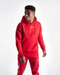 BOXRAW Johnson Hoodie - Red