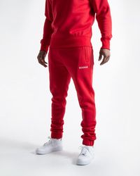 BOXRAW Johnson Bottoms - Red