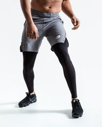 BOXRAW Pep Shorts (2-in-1 Training Tights) - Multicolour