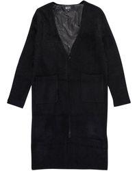 BOY London Boy Drip Backprint Knit Longline Cardigan Black/white- Size M
