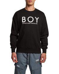 BOY London Kings Road Sweatshirt - Black